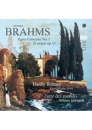 Brahms: Piano Concerto No. 1 D minor Op. Op. 15 (Music CD)
