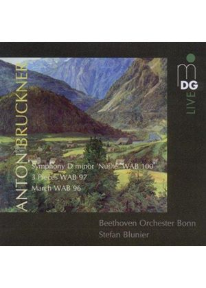 "Anton Bruckner: Symphony D minor ""Nullte""; 3 Pieces WAB 97; March WAB 96 (Music CD)"