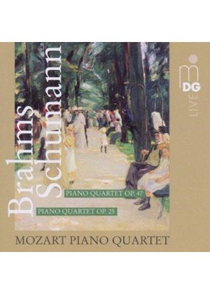 Brahms: Piano Quartet Op. 25; Schumann: Piano Quartet Op. 47 [SACD] (Music CD)