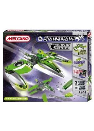 Meccano - Space Chaos: Silver Force Fighters