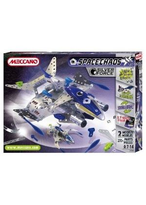 Meccano - Space Chaos: Silver force Destroyer