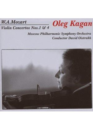 Wolfgang Amadeus Mozart - Violin Concertos Nos. 1 And 4 (Oistrakh, Moscow PO) (Music CD)