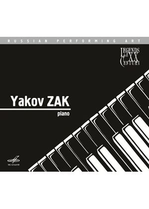 Legends of the 20th Century: Yakov Zak (Music CD)