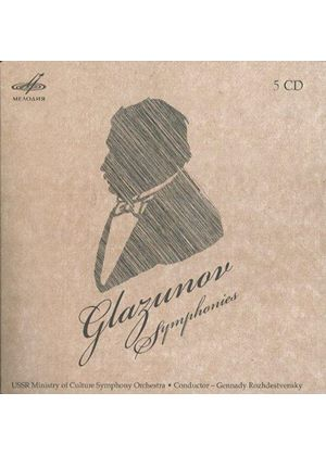 Glazunov: Symphonies (Music CD)