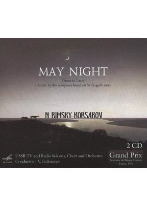 Nikolai Rimsky-Korsakov: May Night (Music CD)