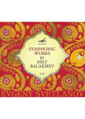 Symphonic Works by Mily Balakirev (Music CD)