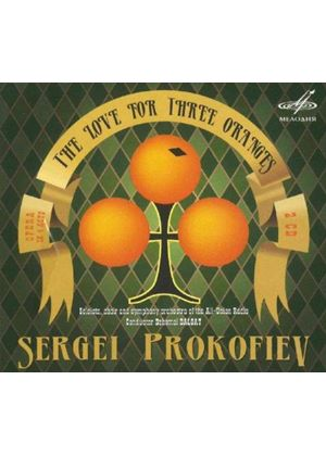 Sergei Prokofoev: The Love for Three Oranges (Music CD)