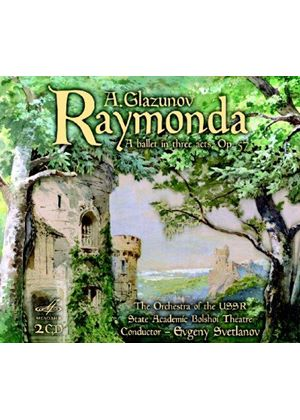 Glazunov: Raymonda (Music CD)