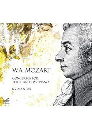 Mozart: Concertos for Three & Two Pianos (Music CD)