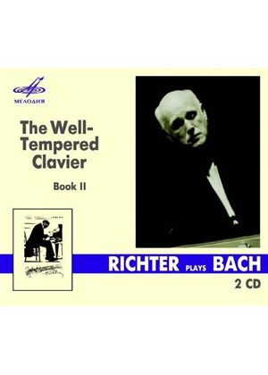 Bach: The Well-Tempered Clavier Book II (Music CD)
