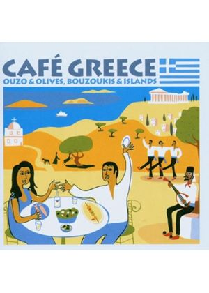 Various Artists - Cafe Greece (Music CD)
