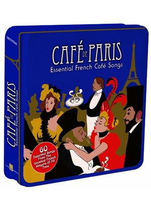 Various Artists - Cafe De Paris - Essential French Cafe Songs (Limited Edition/Collectors Tin) (Music CD)