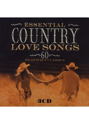 Various - Essential Country Love Songs (Music CD)