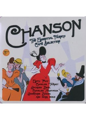 Chanson - The Essential French Cafe Selection (Music CD)
