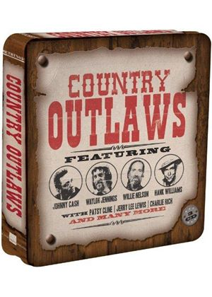 Various Artists - Country Outlaws [Metro] (Music CD)
