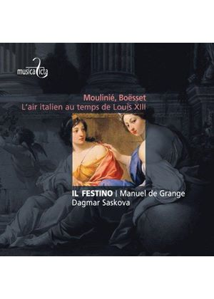 Moulinié, Boësset: L'Air Italien au Temps de Louis XIII (Music CD)