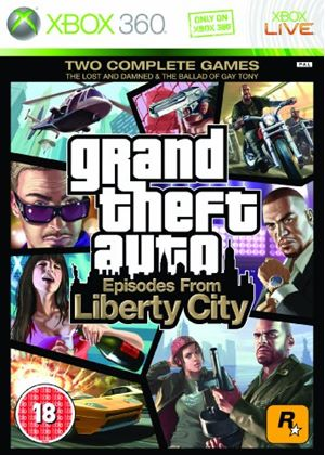 Grand Theft Auto IV - Episodes from Liberty City (XBox 360)