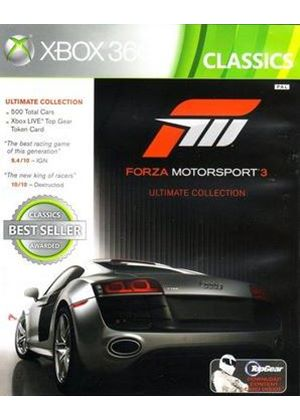 Forza Motorsport 3: Ultimate Collection Classics (Xbox 360)