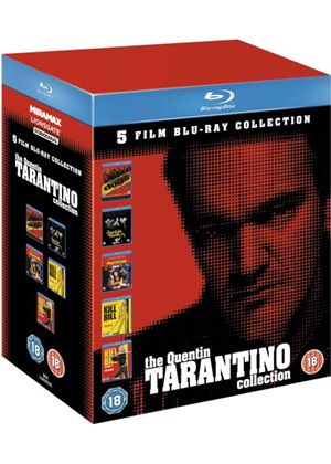 Quentin Tarantino Collection (Reservoir Dogs, Pulp Fiction, Jackie Brown, Kill Bill Vol. 1, Kill Bill Vol. 2) (Blu-ray)