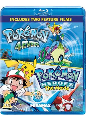 Pokémon Forever And Pokémon Heroes (Blu-Ray)