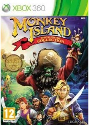 Monkey Island: Special Edition - Collection (XBox 360)