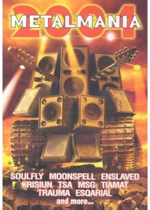 Various Artists - Metalmania 2004 [Dvd+Cd]