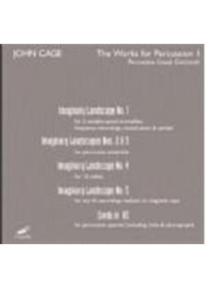 Percussion Group Cincinnati - John Cage (The Works for Percussion, Vol. 1) (Music CD)