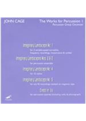 Percussion Group Cincinnati - John Cage (The Works for Percussion, Vol. 1/+DVD) [DVD Audio]