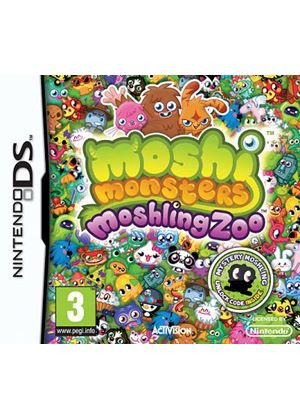 Moshi Monsters: Moshlings Zoo (Nintendo DS)