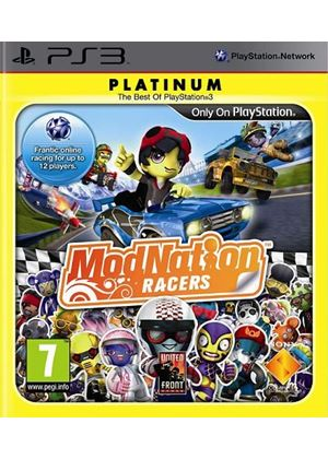 ModNation Racers - Platinum (PS3)