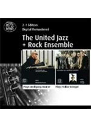 United Jazz & Rock Ensemble - Plays Wolfgang Dauner/Plays Volker Kriegel (Music CD)