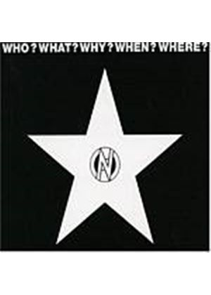Various Artists - Who, What, Why, Where, When? (Music CD)