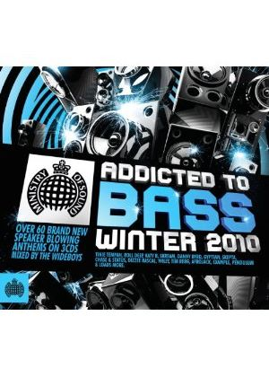 Various Artists - Addicted To Bass - Winter 2010 (Music CD)