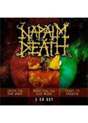 Napalm Death - Inside The Torn Apart/Words From The Exit Wound/Breed To Breathe (Box Set) (Music CD)