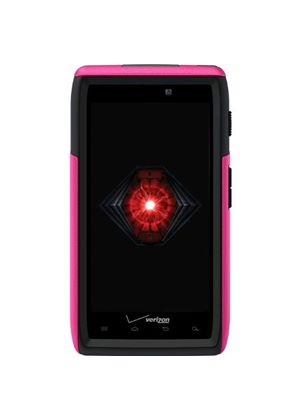 OtterBox Case for the Motorola Razr Commuter Series - Black/Hot Pink