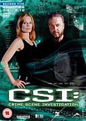 CSI: Crime Scene Investigation - Season 5  Part 1