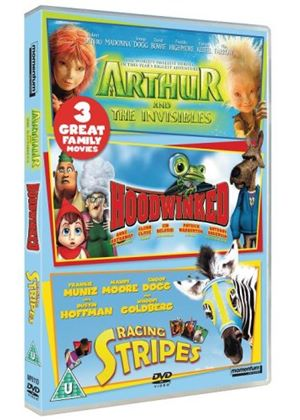 Hoodwinked / Arthur / Racing Stripes