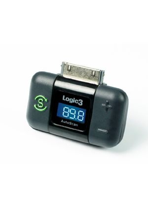 Logic3 FM Transmitter for Apple iPad, iPhone and iPod