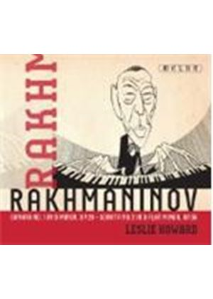 Rakhmaninov: Sonata No. 1 in D minor; Sonata No. 2 in B flat minor (Music CD)