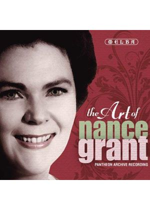 Art of Nance Grant (Music CD)
