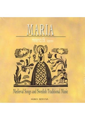 Helena Ek - Maria (Medieval Songs and Swedish Traditional Music) (Music CD)