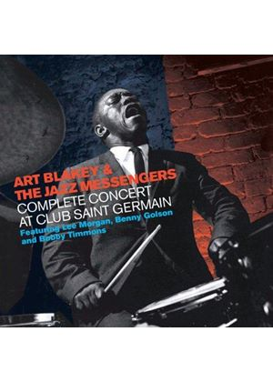 Art Blakey - Complete Concert at Club Saint Germain (Live Recording) (Music CD)