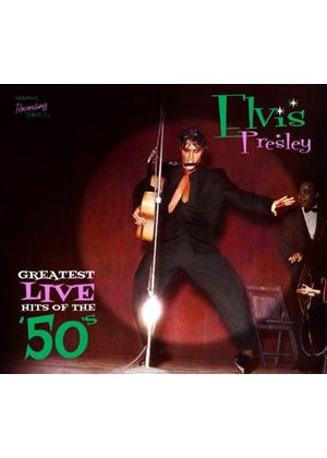 Elvis Presley - Greatest Live Hits of the 50's (Music CD)