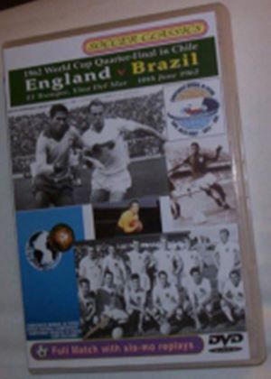 1962 World Cup Quarter Final - England Vs Brazil