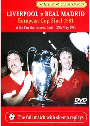 1981 European Cup Final - Liverpool Vs Real Madrid