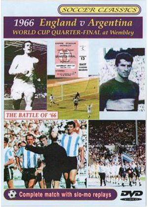 England v Argentina 1966 World Cup Quarter-Final