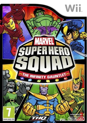 Marvel Super Hero Squad - The Infinity Gauntlet (Wii)