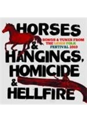 Various Artists - Horses And Hangings Homicide And Hellfire (Music CD)