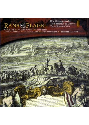 Rans & Flagel - Three Scenes Of War (Music CD)