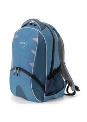 Dicota BacPac Element Notebook Backpack (Blue) for 15 inch to 16.4 inch Notebooks